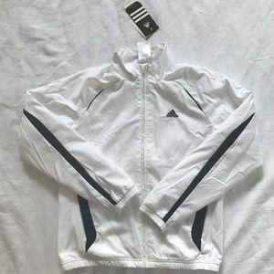 NWT Adidas boys track jacket